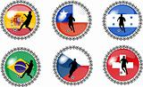 soccer buttons set 2