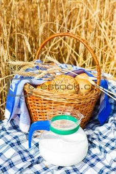 Bread and milk jug