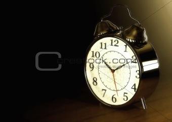Old Fashioned Retro Clock