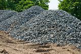 Granite road metal
