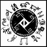 Western Primitive Zodiac #2
