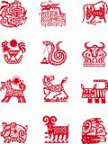 Chinese zodiac animal symbol