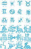 Zodiac constellation symbol
