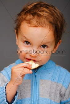 Boy with a cookie
