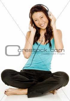 Sitting Listening To Music