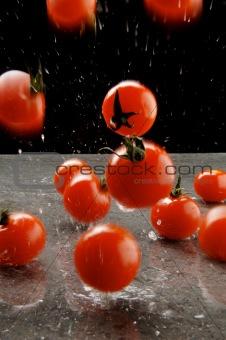 Airborne tomatoes