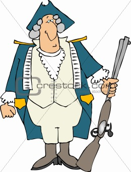 American revolutionary war soldier