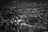 culvert in paving stones