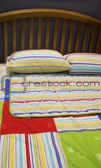 Bed - bedroom interiors