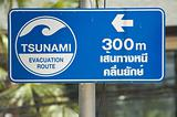 Tsunami sign