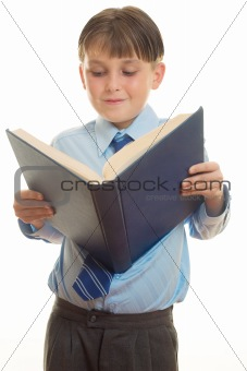 Literacy - Reading a book
