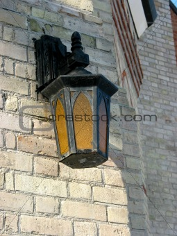 Old church lamp