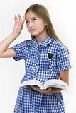School girl fed up