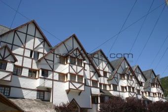 Houses in Bariloche, Argentina