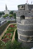 Castle and Gardens in Angers