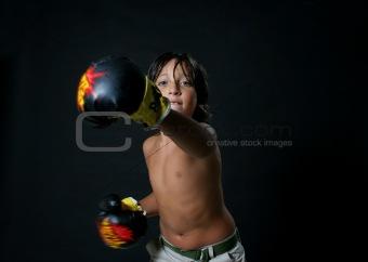 Boxer boy