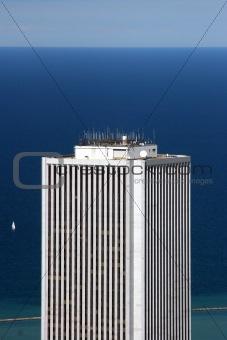 Skyscraper - aerial view
