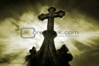 cemetary crucifix