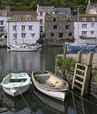 POLPERRO HARBOUR, CORNWALL, UK