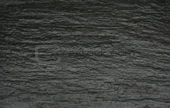Black rock texture