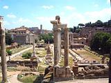Imperial Forum and Venus Temple - Rome