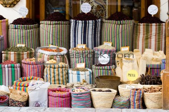 Arabic market  in Sharm el Sheik Egypt