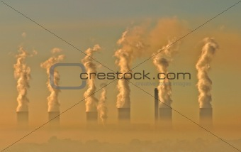 Industrial smog