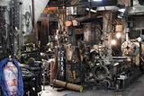 Machining shop in Down Town Taipei