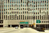 Chicago – highway across the building