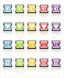 MetaGlass Icons Web 1 (Vector)