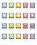 MetaGlass Icons Web 1 (Vector)