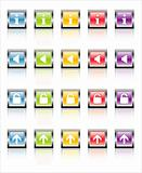 MetaGlass Icons Web 2 (Vector)