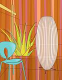 Modern home indoor garden (Vector)
