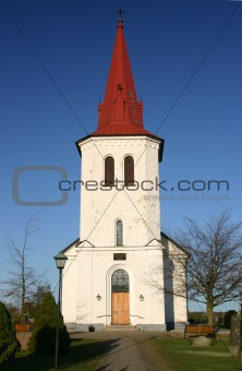 Church in Rorum, Scania, Southern Sweden