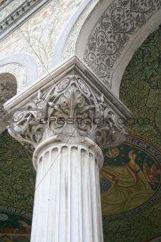Church column detail