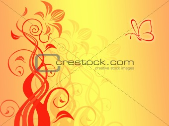Abstract backdrop