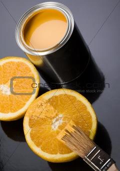 Paint & Orange