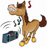 Horse and Music
