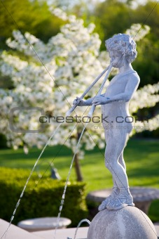 A Cherub Fountain