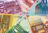 Euro banknotes - close-up