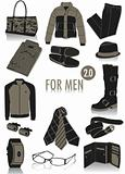 Objects for men silhouettes 2