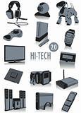 Hi-tech silhouettes 2
