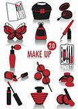 Make-up silhouettes 2