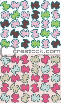 bear graphic pattern design