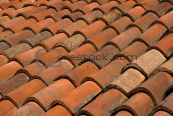 Image 2002763 roofing tile texture from crestock stock photos for Buy clay roof tiles online