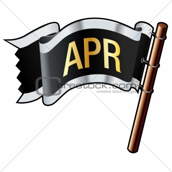 April Month on Flag