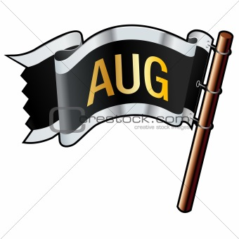 August Month on Flag