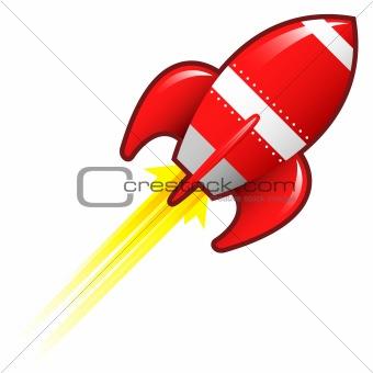 Blank Red Rocket