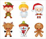 Christmas characters