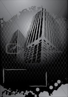 grunge dark city